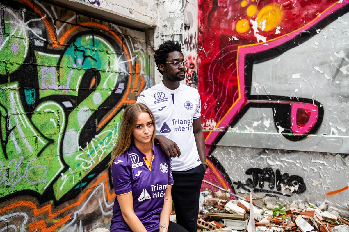 TFC 2019 nouveaux maillots Toulouse FC 18 19
