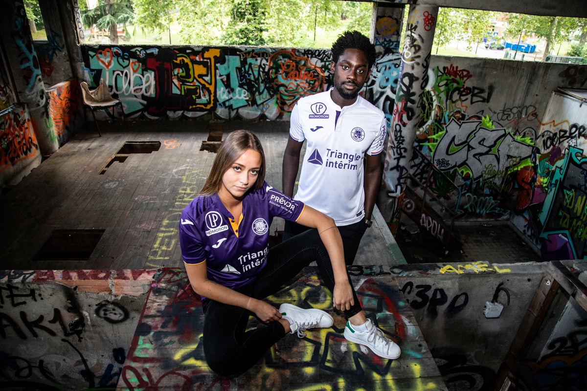 Toulouse FC 2018 2019 maillots de foot Joma