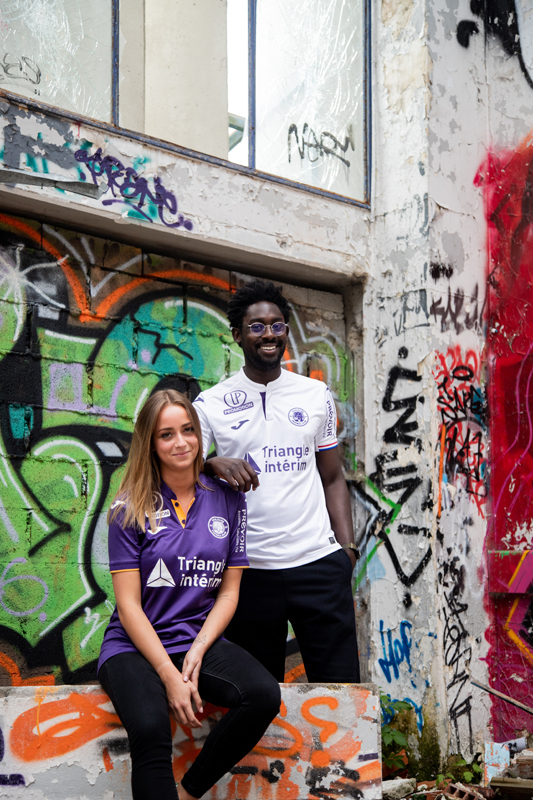 Toulouse FC 2019 maillots de football Joma