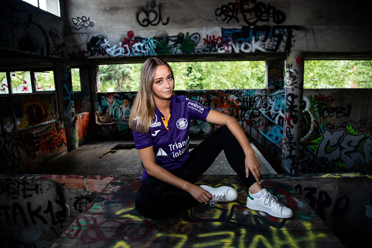 Toulouse 2019 maillot domicile Joma 18 19