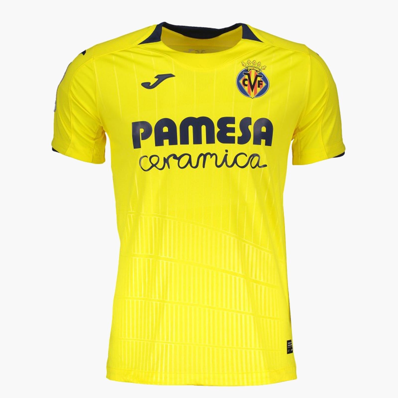 Villareal 2019 maillot de foot domicile 18 19
