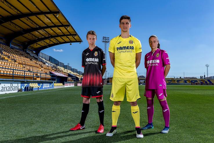 Villareal 2019 nouveaux maillots de foot Joma