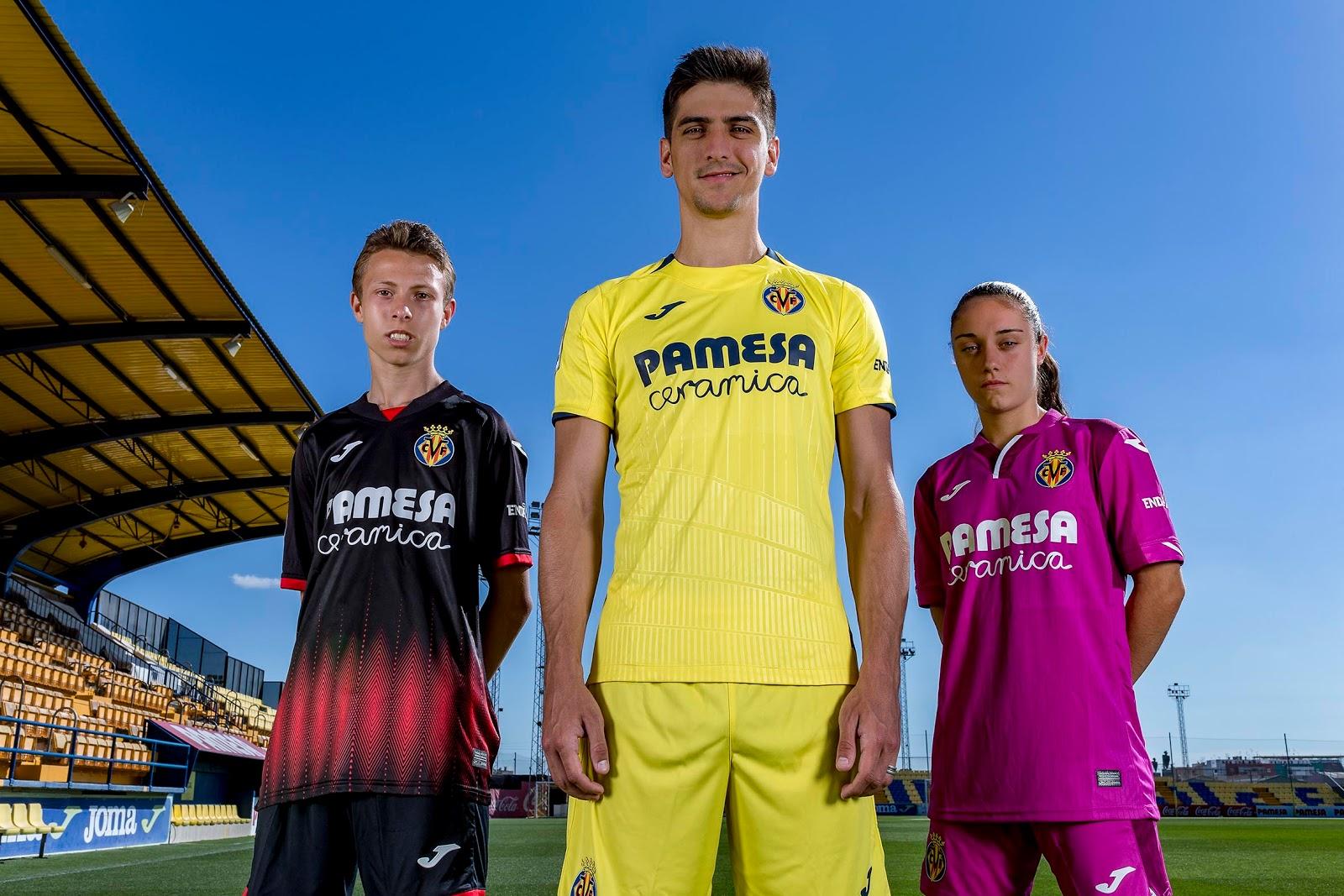 Villareal 2019 nouveaux maillots de football