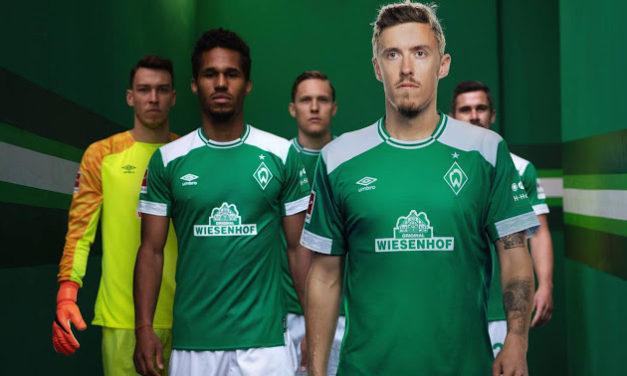 Avec Umbro les nouveaux maillots de football Werder Breme 2019