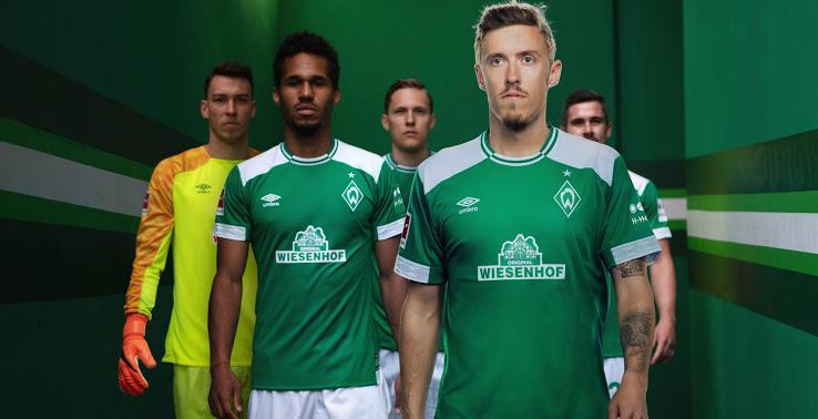 Werder Breme 2019 maillot domicile 18 19