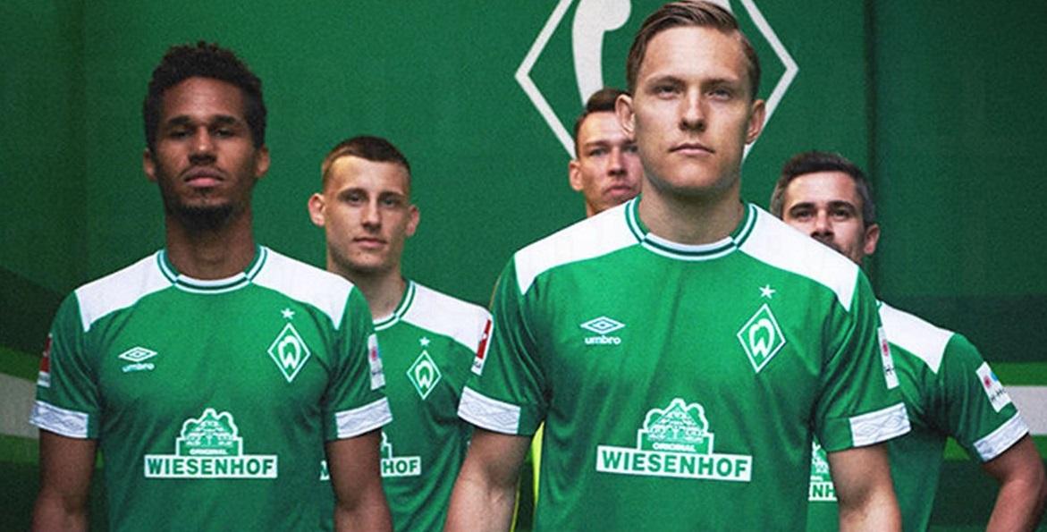 Werder Breme 2019 maillot domicile Umbro