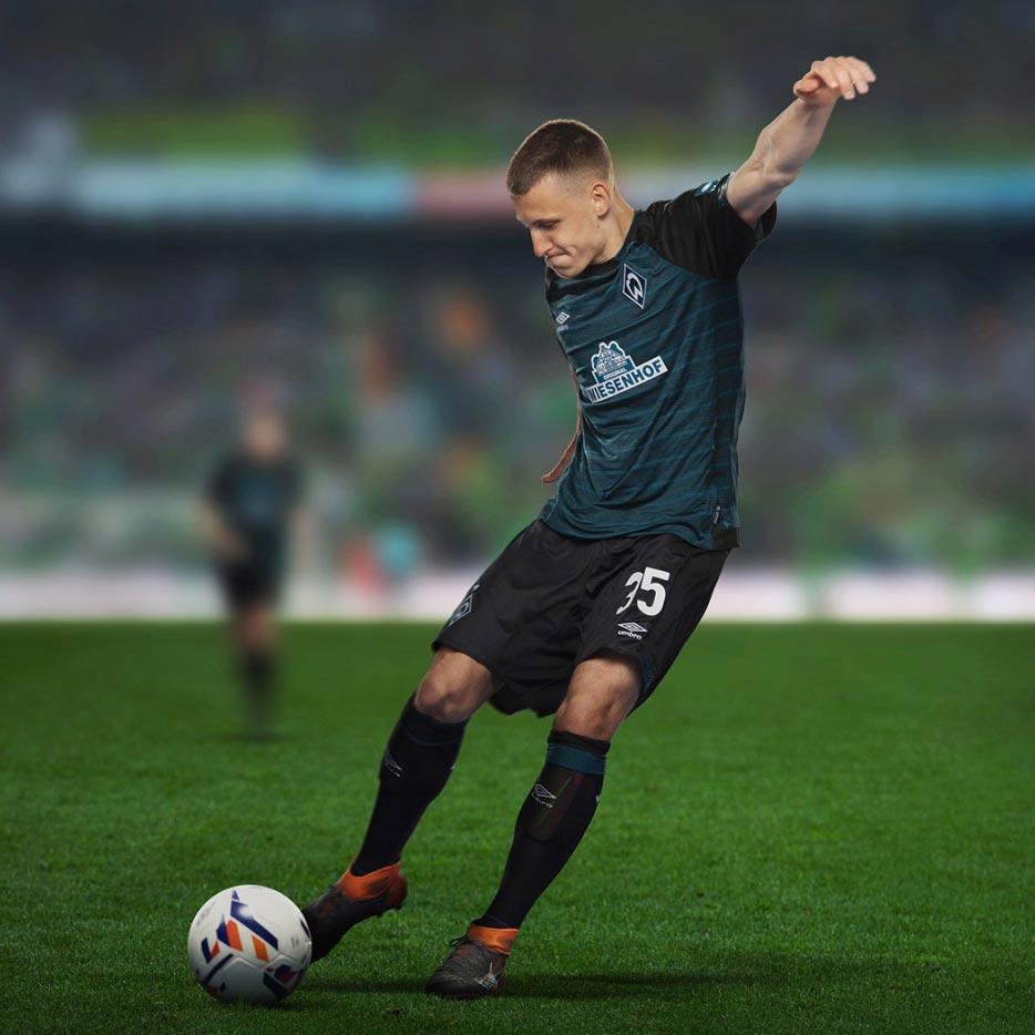 Werder Breme 2019 nouveau maillot exterieur Umbro
