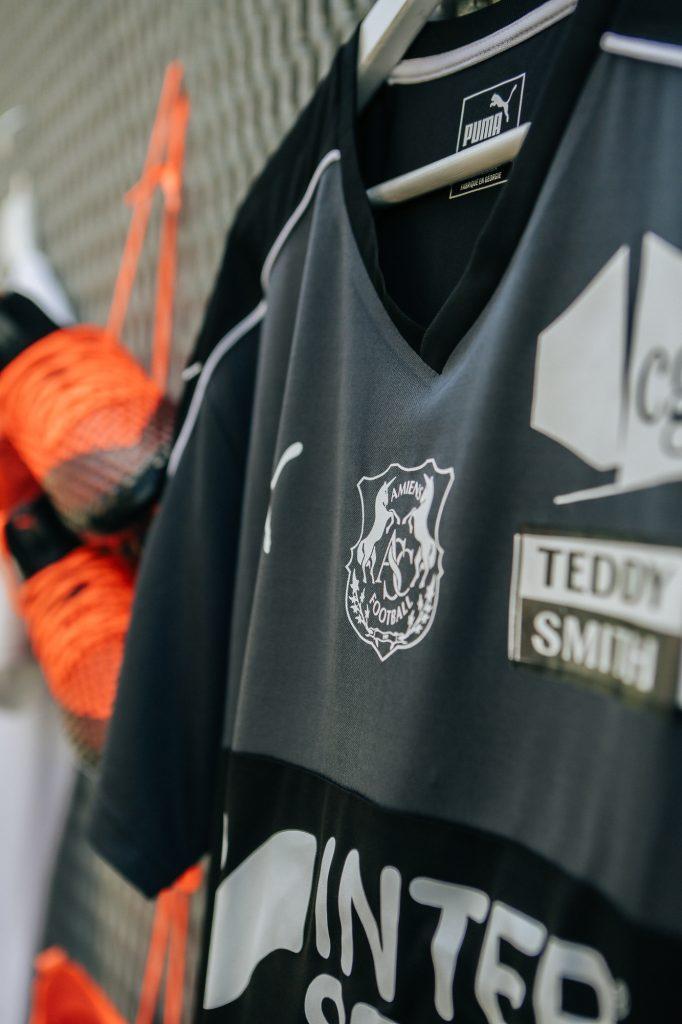 Amiens 2018 2019 maillot foot extérieur
