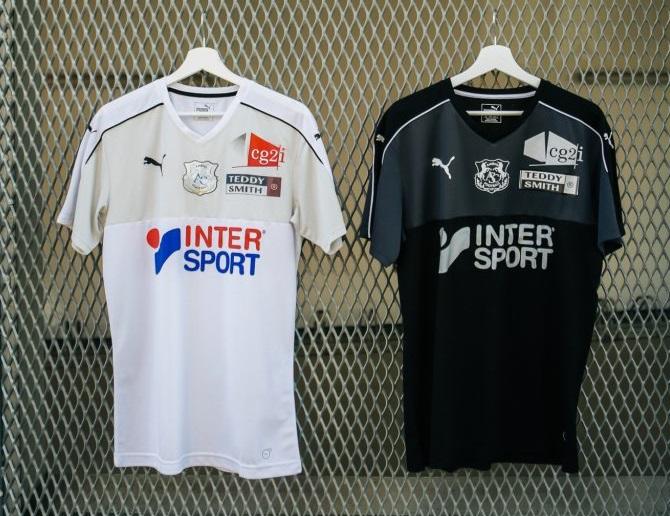 Amiens 2019 maillots de foot Puma 18 19