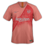 FC Barcelone 2019 troisieme maillot third 18 19