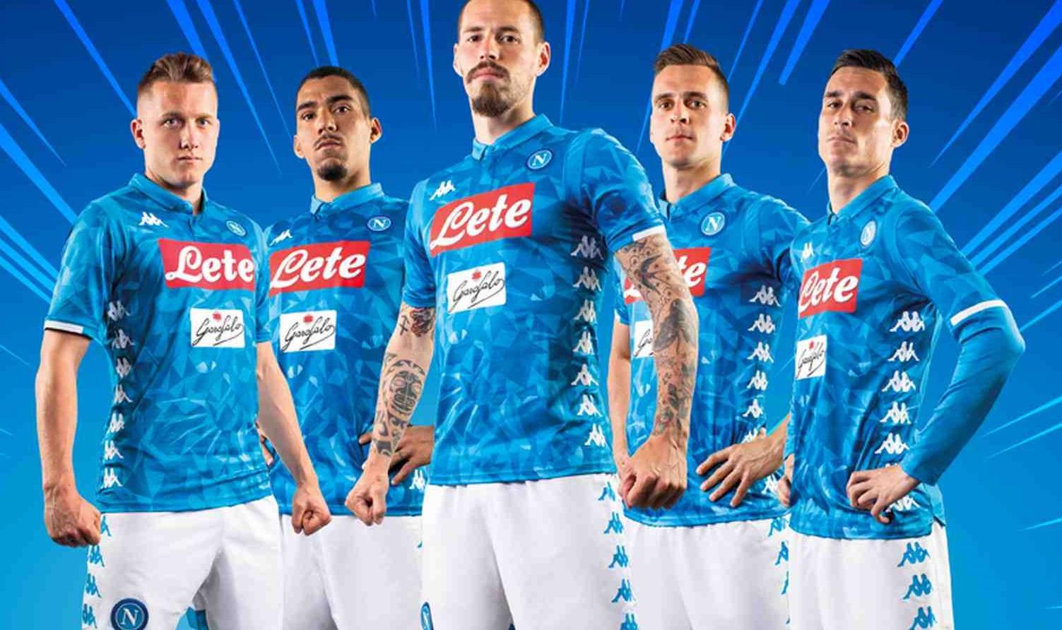 Naples 2019 maillot foot domicile Kappa