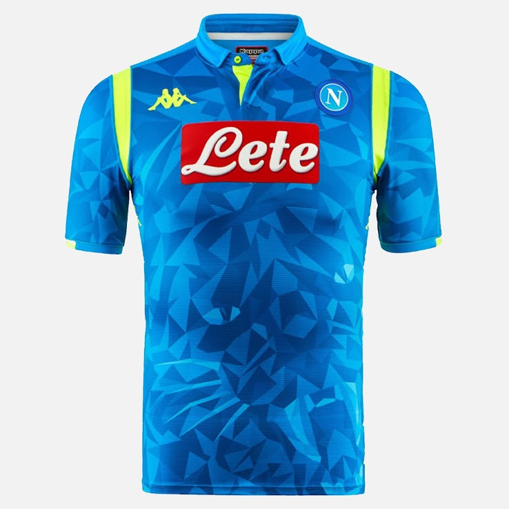 Naples 2019 maillot ligue des champion bleu