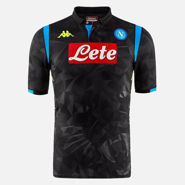 Naples 2019 maillot ligue des champion noir