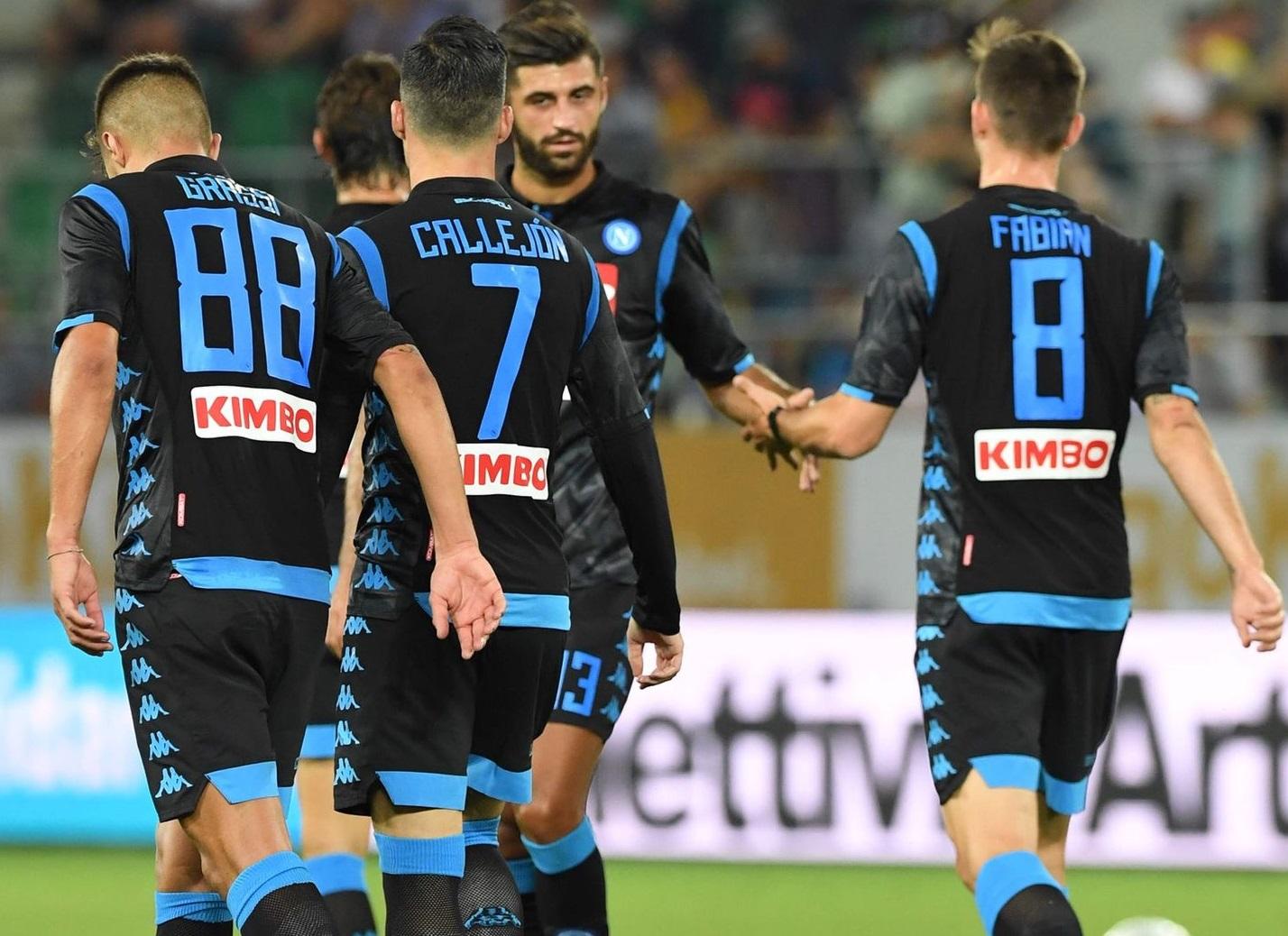 Naples 2019 nouveau maillot extérieur noir 2018 2019