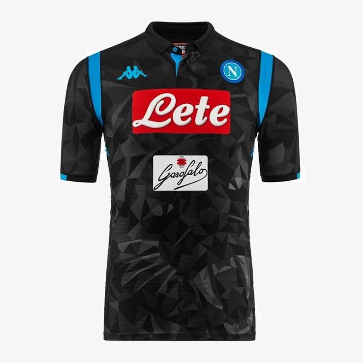 Naples 2019 nouveau maillot football extérieur 18 19
