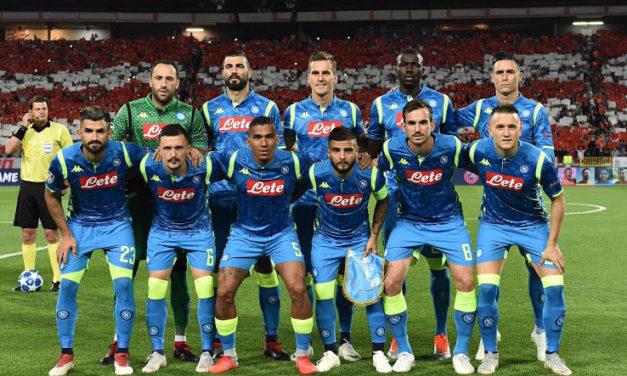 Naples 2019 les 5 maillots de foot du SS Napoli 2018-2019