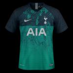 Tottenham 2019 troisieme maillot third 18 19