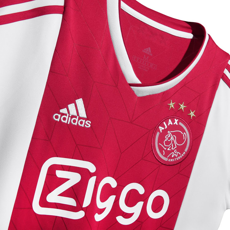 Ajax 2019 nouveau maillot de foot domicile