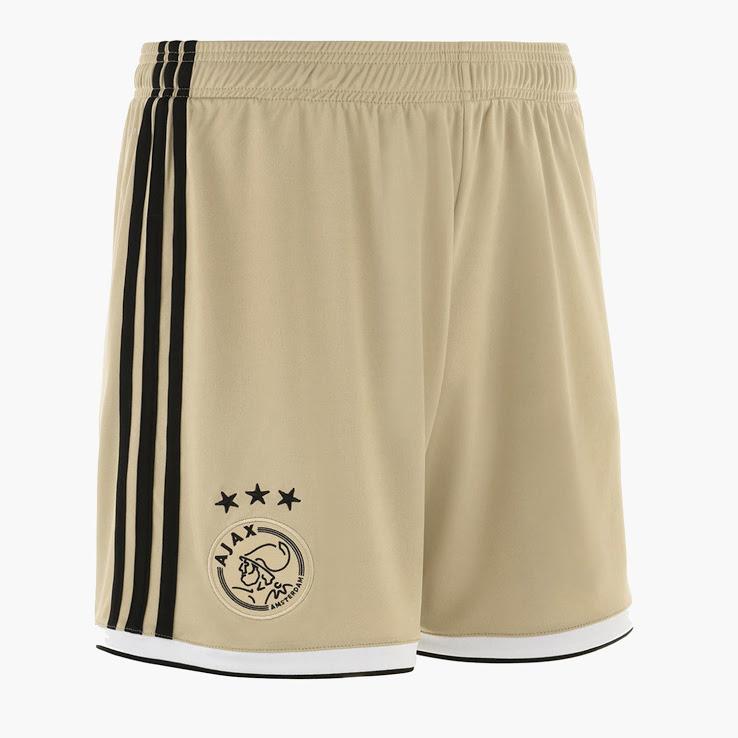Ajax 2019 short de foot exterieur