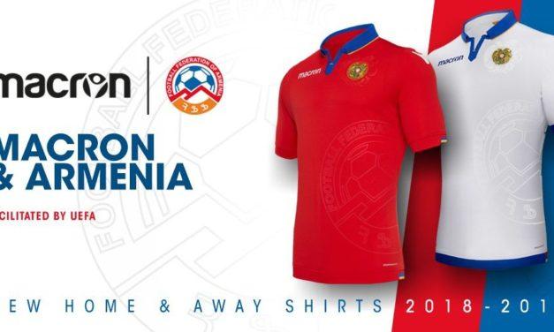 Arménie 2018-2019 les nouveaux maillots de foot