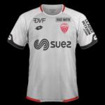 Dijon 2019 maillot de foot exterieur