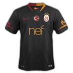 Galatasaray 2019 maillot exterieur noir