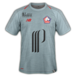 LOSC 2019 maillot third Lille gris 2018 2019