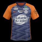 Montpellier 2019 maillot domicile
