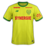Nantes 2019 maillot domicile football