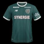 Nantes 2019 maillot exterieur football