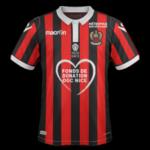 Nice 2019 maillot domicile football