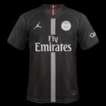 PSG 2019 3eme maillot third noir Paris