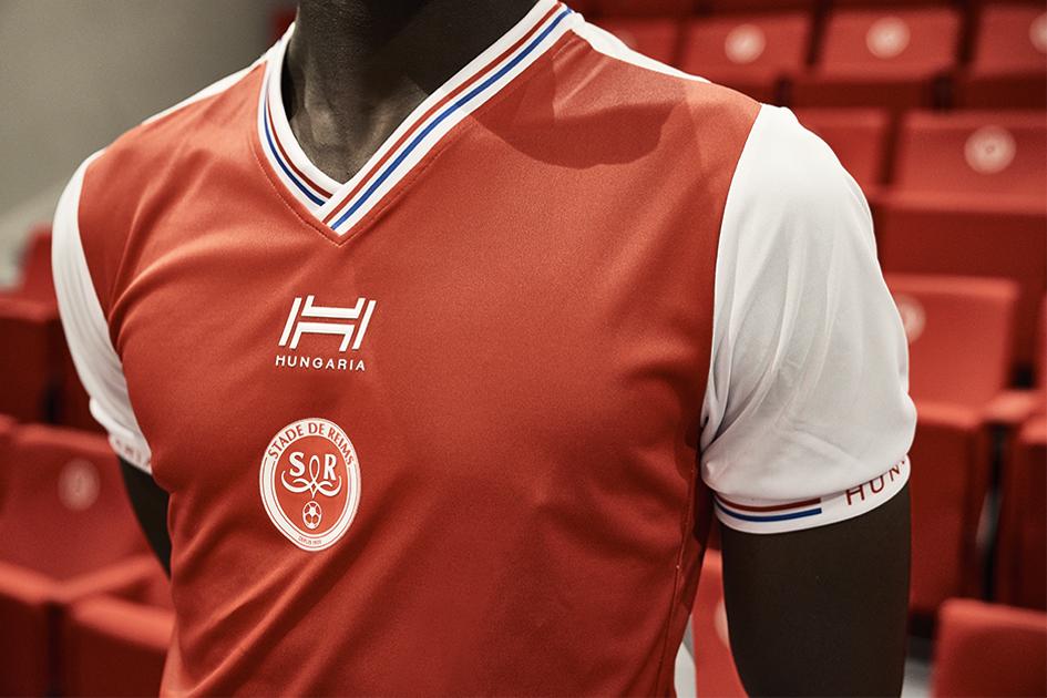 Reims 2019 maillot domicile rouge