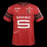 Rennes 2019 maillot domicile foot
