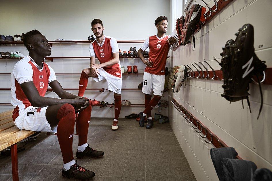 Stade de Reims 2019 nouveau maillot de football domicile officiel