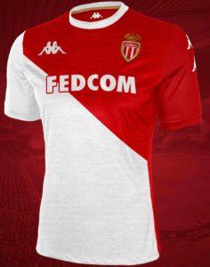 AS Monaco 2020 possible maillot domicile