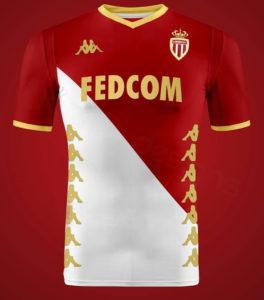AS Monaco 2020 possible maillot domicile Kappa