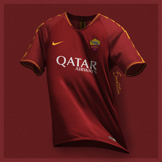 AS Roma 2020 possible maillot domicile