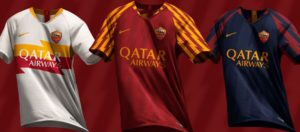 AS Rome 2020 possible maillots de foot
