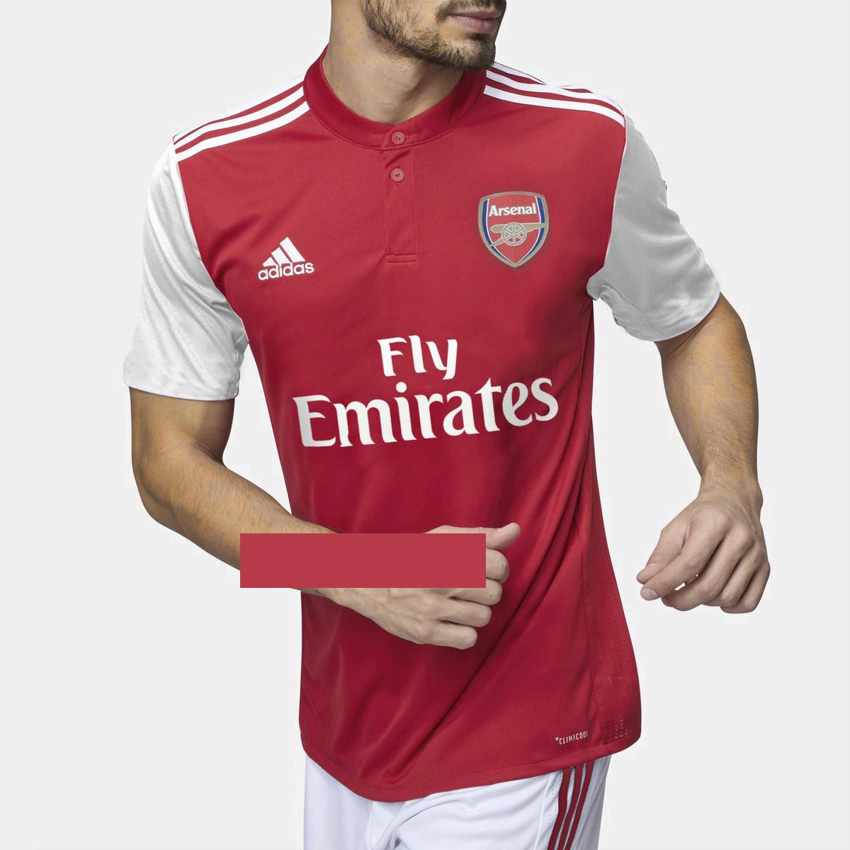 Arsenal 2020 possible maillot domicile