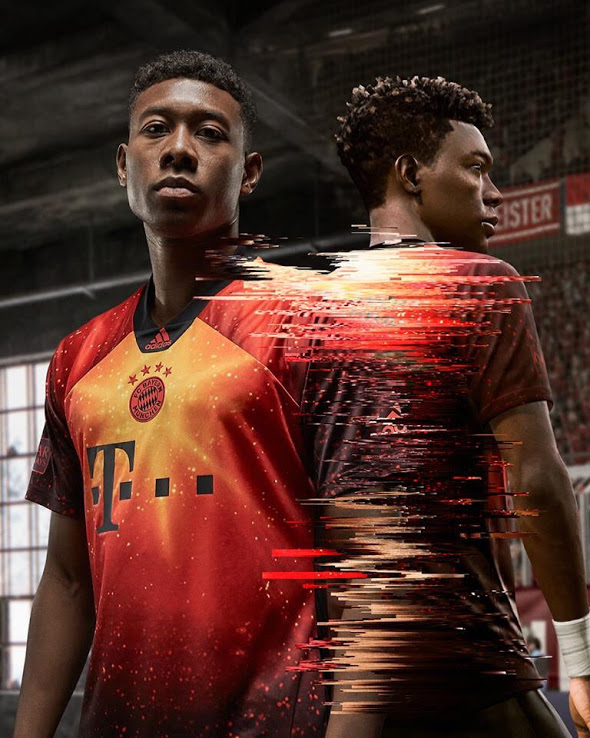 EA Sports maillot de foot Bayern Munich Fifa 19