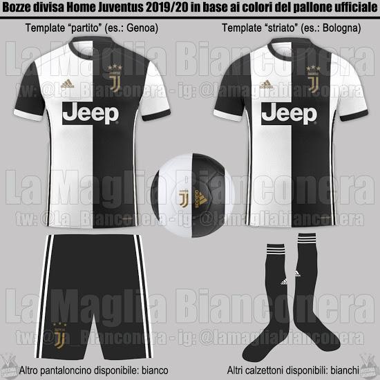 Juventus 2020 possible maillot domicile