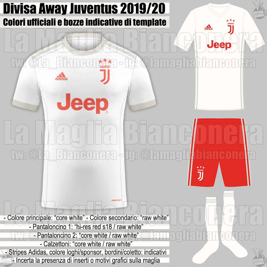 Juventus 2020 possible maillot exterieur