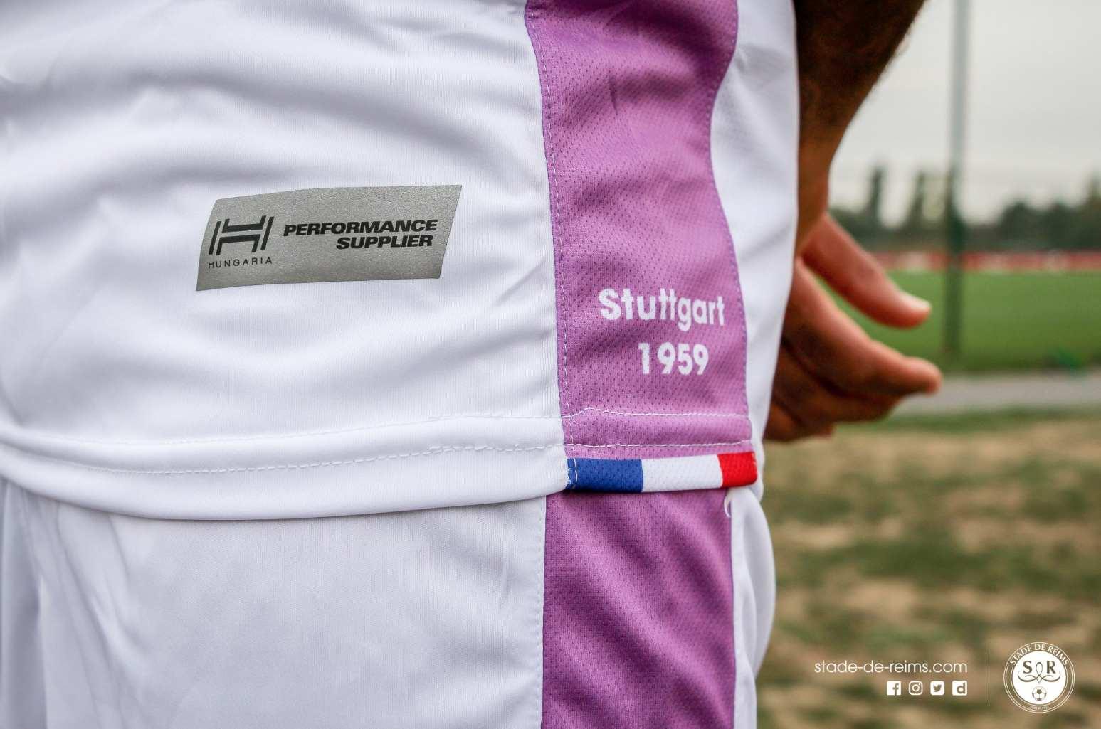 Reims 2019 3eme maillot football Hungaria