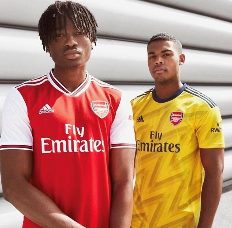 Arsenal 19 20 nouveau maillot exterieur 2019 2020