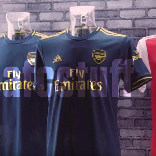 Arsenal 2020 3eme maillot third 19 20 Adidas