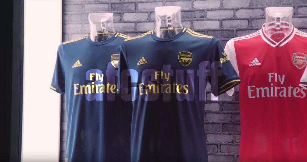 Arsenal 2020 3eme maillot third 19 20