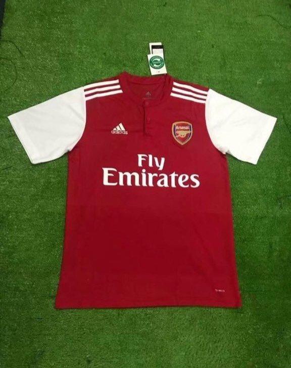 Arsenal 2020 faux maillot domicile