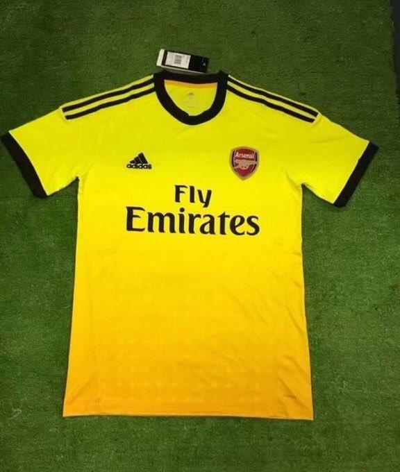 Arsenal 2020 faux maillot exterieur