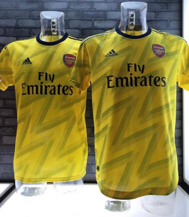 Arsenal 2020 maillot exterieur 19 20